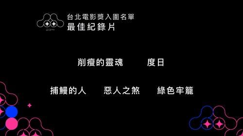0514雙競賽入圍公布記者會投影片_台北電影獎_0513_最佳紀錄片_-_全