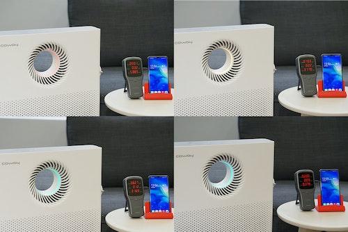 Coway_AP-1220B+超微塵濾網測試