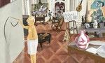 用細緻線條勾勒出莫內、畢卡索與芙烈達卡蘿的生活場域:自學藝術家Max Dalton